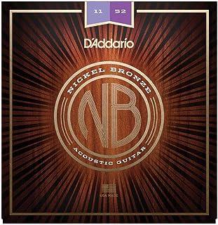 سلاسل غيتار اكوستيك من النيكل، NB1152، ضوء مخصص، 11-52