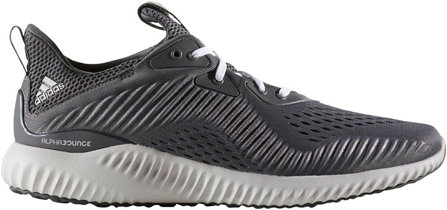 Adidas Men's Alphabounce Em Running shoes Grey Five White Core Black 10 D(M) US