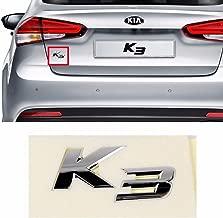 K3 Logo Rear Trunk Emblem Badge for KIA 2014- Forte Cerato K3 Sedan OEM Parts