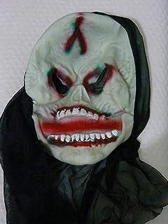Masker Decoratie, Halloween Halloween Dancing Dress Devil Mask Devil Zombie Horror Mask prestatiessteunen (Color : A)