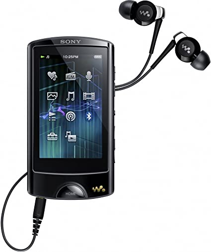 Sony Walkman Nwz A867b Walkman Mp3 Video Player 64 Gb 7 1 Cm 2 8 Zoll Touchscreen Usb Bluetooth Fm Tuner Schwarz Audio Hifi