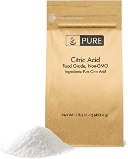 Citric Acid (1 lb.) by Pure Organic Ingredients, Eco-Friendly Packaging, All-Natural, Highest Quality, Pure, Food Grade, Non-GMO