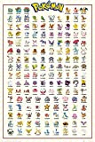 Close Up Pokémon Poster Charaktere (61 cm x 91,5 cm)
