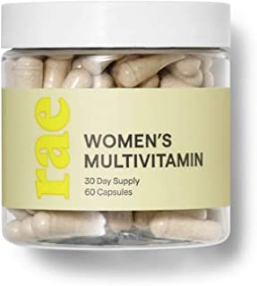 Rae Womens Multi-Vitamins 60 Capsules! Blend of Vitamins, Herbs and Trace Minerals! Nourish Your Body for Head-to-Toe Heal...