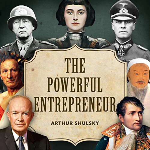 The Powerful Entrepreneur audiobook cover art