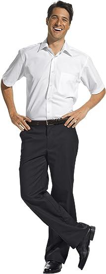 Pantalones de trabajo para hombre, negro (44): Amazon.es: Hogar