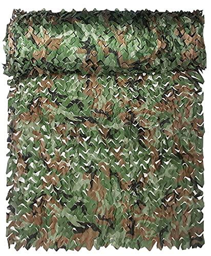 'N/A' Woodland Camoufflage Netting Camo Netting Camo Camo Net para Acampar, Decoración De Telón De Fondo, Sombra, Tiro De Caza Cualquier Tamaño Puede Ser Personalizado(Size:3 * 6m/10 * 20ft)