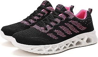 ZLYZS Zapatillas De Fitness para Mujer, Zapatillas De Malla Transpirables Y Cómodas Zapatillas De Deporte Livianas Que Abs...