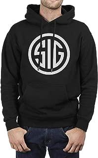 ZTUO SIG Sauer Original Venitiens Men's Hoodies Novelty Big Pockets Hoody Sweatshirt