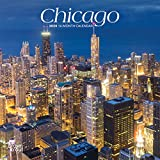 Chicago 2020 7 x 7 Inch Monthly Mini Wall Calendar, USA United States of America Illinois Midwest City