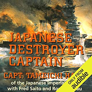 Japanese Destroyer Captain cover art