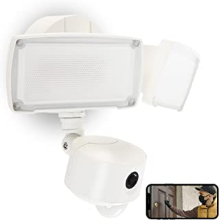 UME Security Camera with Floodlight Outdoor, Two-Way...