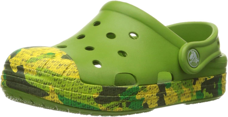 Crocs Los Angeles Mall Gorgeous Bump It Camo K Little Toddler Kid Clog