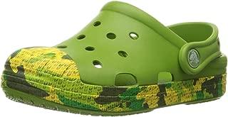 crocs Boy's Bump It Camo Navy Clogs