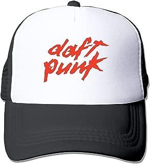 Daft Punk Summer Sun Protection Mesh Cap Baseball Hat Cap Adjustable