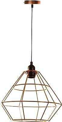 Lum & Co lampada a sospensione E27, rame