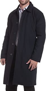 Zach Mens Overcoat Wool Trench Coat Knee Length Meant to be Worn Over Suits