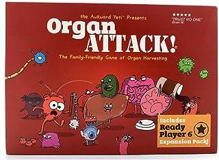 Organ Attack !Human Organ Attack Card Game -ICVDSRG