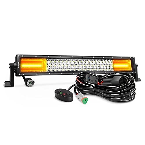 Off Road LED Light Bar Amber: Amazon.com