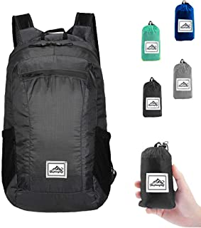 Ranber Packable Hiking Daypack, Lightweight Foldable Backpack for Travel Outdoor