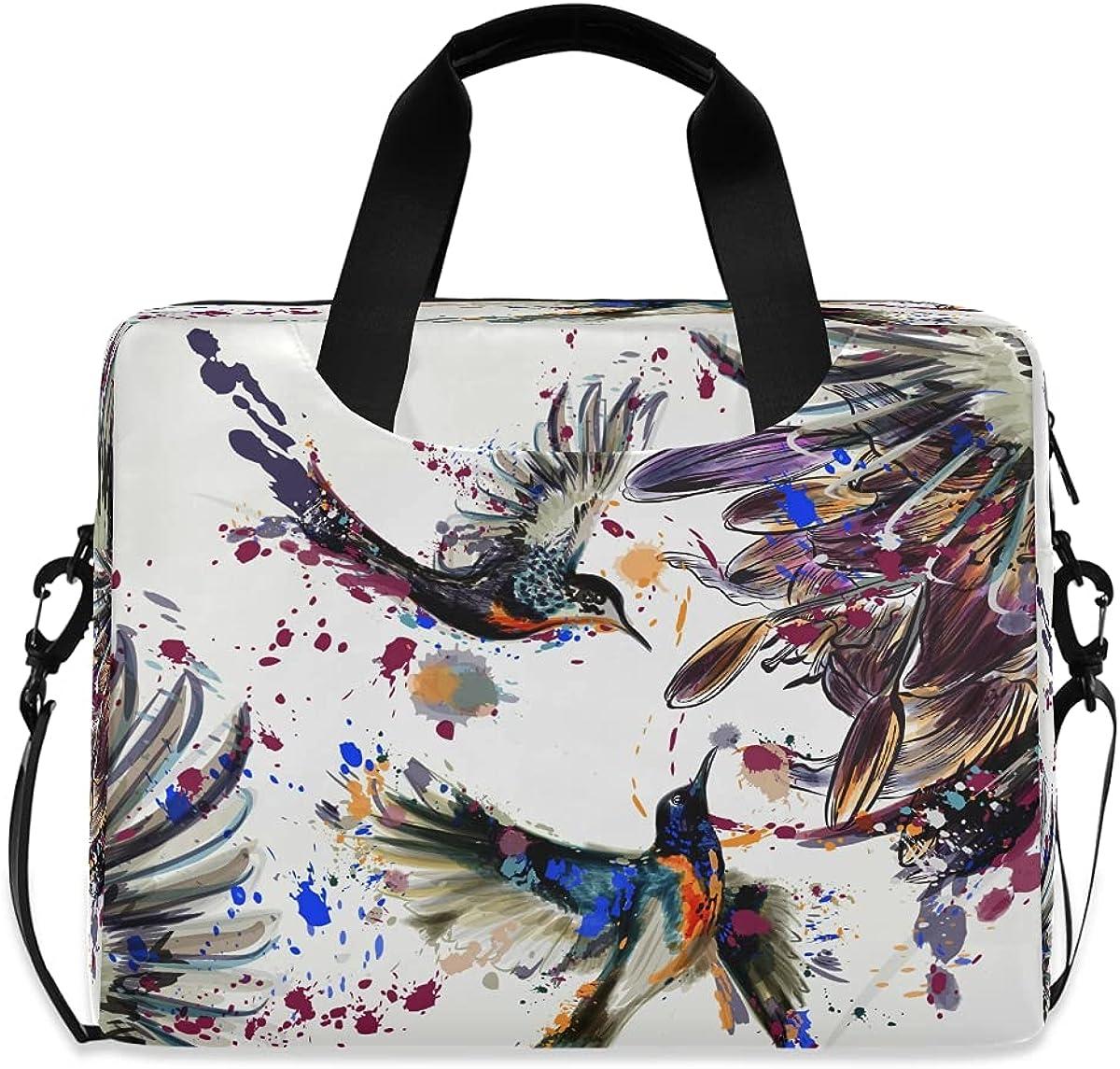 JMbuild Laptop Case 15.6 Cheap SALE Start inch Animal Print Bird Max 73% OFF Compu Watercolor