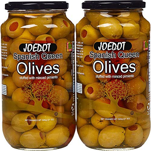 JOEDOT Spanish Queen Olives Our shop OFFers the best service x 21 2 Direct stock discount oz