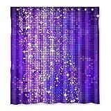 Wild costumes 167 cm X183 cm (167,6 x 182,9 cm) Badezimmer Dusche Vorhang, allgemeine Leuchtendes Violett Custom Wasserdicht Badezimmer Duschvorhang, Polyester, D, 168 x 183 cm