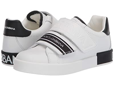 Dolce & Gabbana Kids Sneaker Classica Pium+Pium.Ter (Little Kid/Big Kid) (Bianco/Nero) Kid