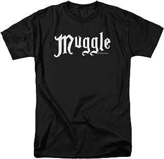 Harry Potter Black Muggle T Shirt & Stickers