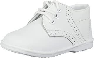 Baby Toddler Boys White Oxford Dress Shoes 1-7