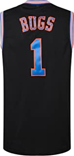 MM MASMIG Bugs 1 Jersey Basketball Jersey S-XXXL Black-White