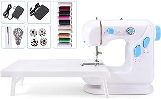 Suteck Mini máquina de coser para principiantes, máquinas