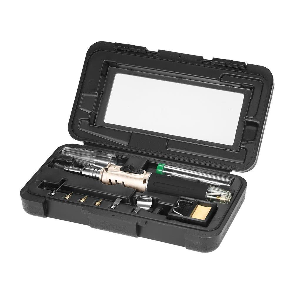 5Pcs HS-1115K Butane Gas Soldering Iron Kit Welding Kit Torch Pen TooRSDE