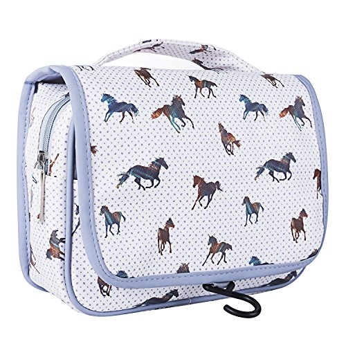TaylorHe, Trousse de toilette, Horse Grey (Multicolore) - bag-travel-CF05