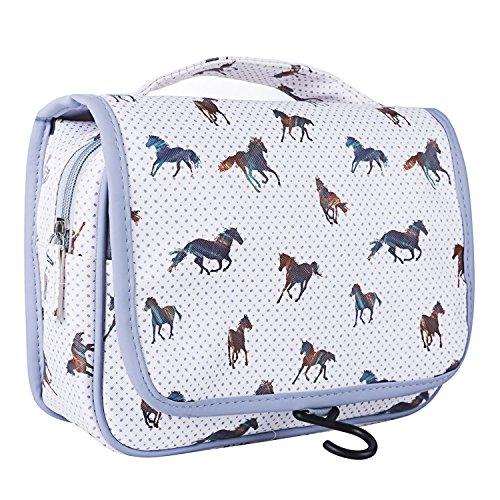 TaylorHe, Trousse de toilette, Horse Grey (Multicolore) - bag-travel-CF05