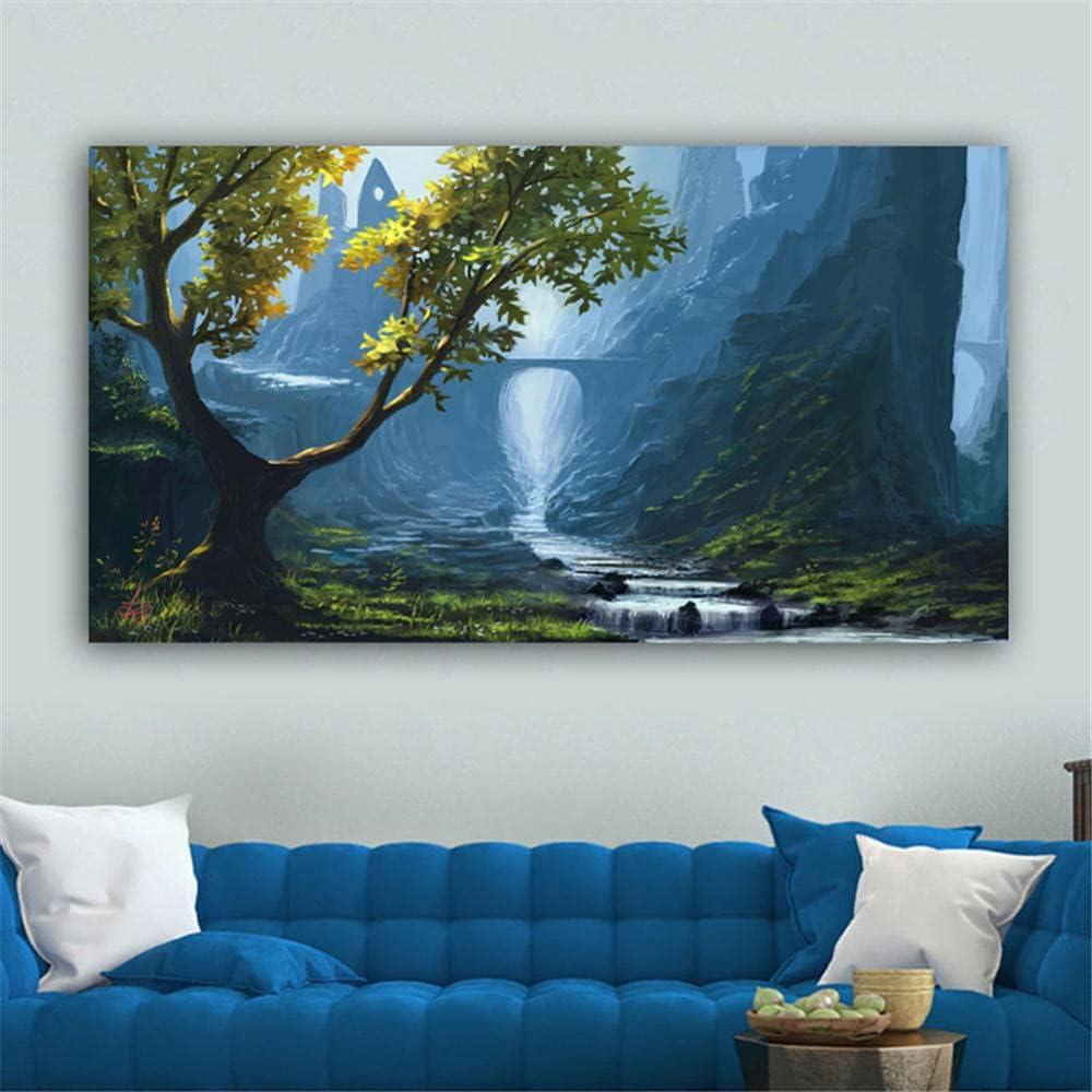 Diamond price Painting kit Tree Mountain Free shipping New DIY A for 5D Art Kits
