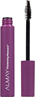 Almay Thickening Mascara, Black Brown, Ophthalmologist Tested, Fragrance Free, Hypoallergenic, 0.26 oz