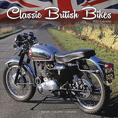 Classic British Motorbikes - Britische Motorrad-Oldtimer 2022 – 16-Monatskalender: Original Avonside-Kalender [Mehrsprachig] [Kalender] (Wall-Kalender)