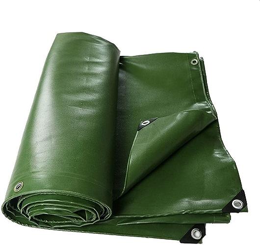 DJSMpb Baches Toile imperméable résistante de Voiture Camion de Tente de Toile de Prougeection Solaire de bache de PVC de PVC (Taille   2  2m)