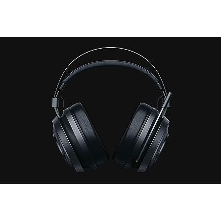 Razer Nari Essential - Casque de jeu sans fil (écouteurs sans fil, coussinets d'oreille avec gel froid, éclairage THX Spatial Audio et RGB Chroma pour PC, PS4 et Switch) noir