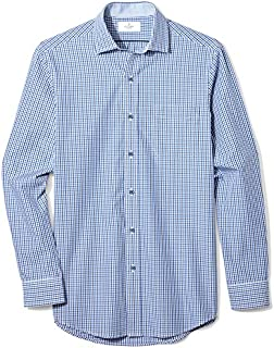 Amazon Brand - BUTTONED DOWN Men's Classic Fit Spread-Collar Supima Cotton Dress Casual Shirt