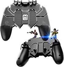 EMISH Mobile Game Controller Gamepad Trigger Aim Button L1R1 Shooter Joystick for PUBG/Fornite/Knives Out/Rules of Survival