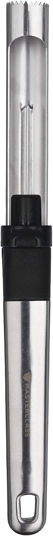 MasterClass Descorazonador y Pelador de Manzana con Ejector Core, Acero Inoxidable, 25 cm