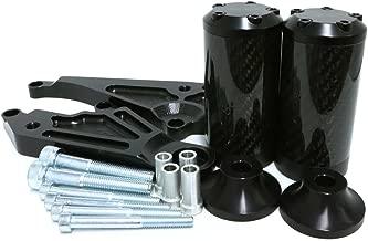 2011-2013 Honda CBR250R No Cut Carbon Fiber Frame Sliders - 710-3119 - MADE IN THE USA