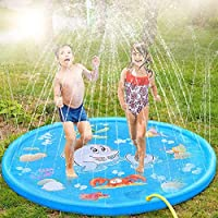 """MIGLIOR TEMPO PER LA FAMIGLIA - È il momento di fare un tuffo nella piscina educativa per bambini! Con funzioni a misura di bambino e un ampio diametro di 66,92 """", puoi tranquillamente fare un tuffo in piscina insieme ai tuoi kiddos! Progettato per c..."""