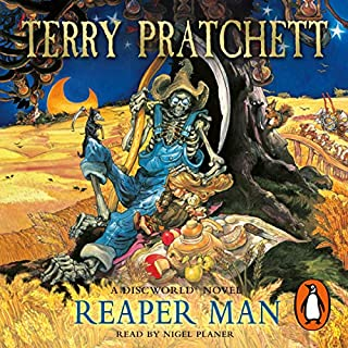 Reaper Man cover art
