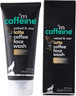 mCaffeine Latte Coffee Moisturizing Face Wash | Mild Cleansing, Tones the Skin | Almond Milk, Shea Butter | All Skin Types...