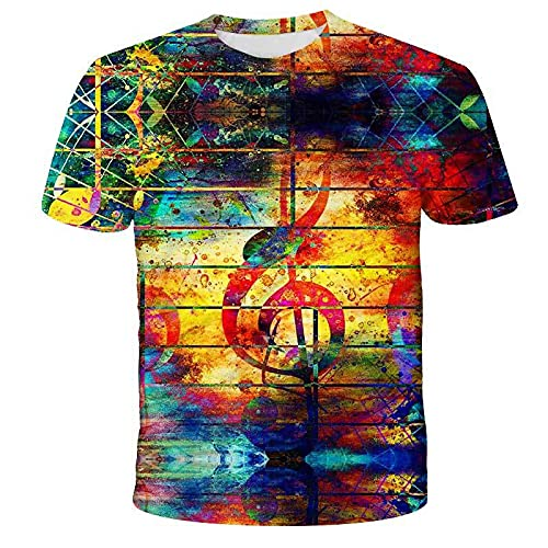Camiseta De Manga Corta De Verano para Hombre, Cuello Redondo, Estampado Gráfico En 3D, Camisetas Bonitas para Gimnasio, Deporte, Ropa Informal, Camisetas 4XL