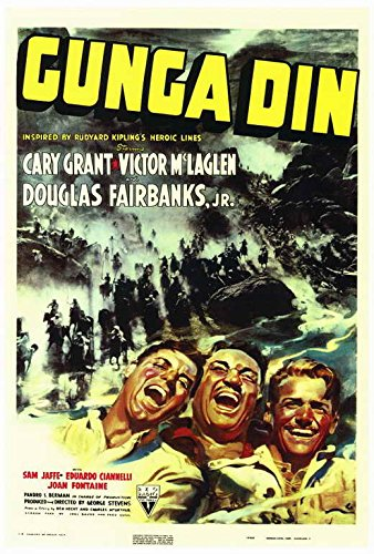 Gunga Din POSTER Movie (27 x 40 Inches - 69cm x 102cm) (1939)