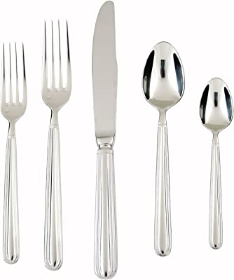 Fortessa Metropolitan Stainless Steel Dinnerware - 5 Piece Place Setting